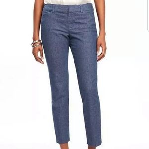 Old Navy Pixie cropped pants in denim size 4